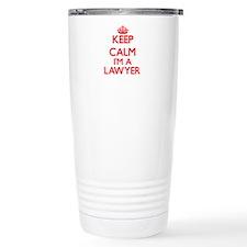 Keep calm I'm a Lawyer Travel Mug