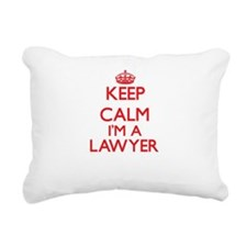 Keep calm I'm a Lawyer Rectangular Canvas Pillow
