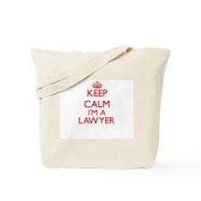 Keep calm I'm a Lawyer Tote Bag