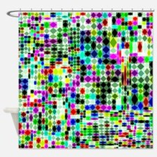 Random Acts of Color 2 Shower Curtain