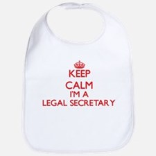 Keep calm I'm a Legal Secretary Bib