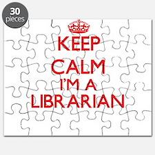 Keep calm I'm a Librarian Puzzle