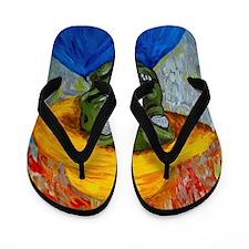 Cute Gogh Flip Flops