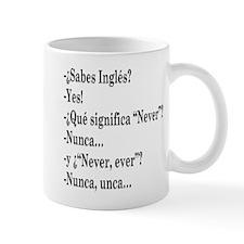 Nunca, unca.. Mug