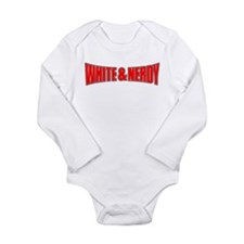 Cute Nerdy Long Sleeve Infant Bodysuit