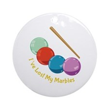 I've Lost My Marbles Ornament (Round)