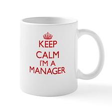 Keep calm I'm a Manager Mugs