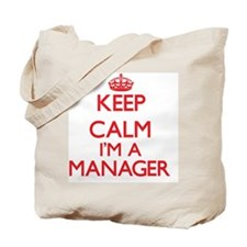 Keep calm I'm a Manager Tote Bag