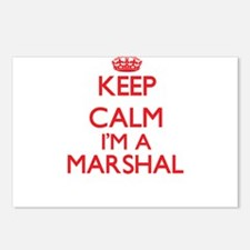 Keep calm I'm a Marshal Postcards (Package of 8)