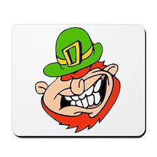 Leprechaun Laughing Mousepad