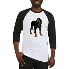 Unique Black and tan coonhound Baseball Jersey