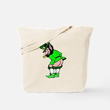 Leprechaun Mooning Tote Bag