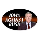 Iowa Against Bush Sticker