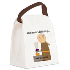 Cook the Books Canvas Lunch Bag