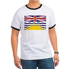 Cute British columbia flag T