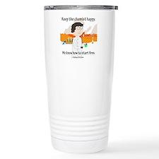 Chem Major Happy Travel Mug