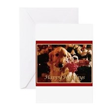 Unique Golden retriever Greeting Cards (Pk of 20)