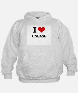 I love Unease Hoodie