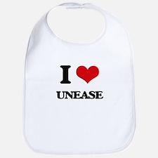 I love Unease Bib