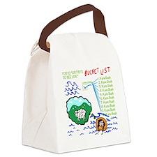 Cute Waves Canvas Lunch Bag