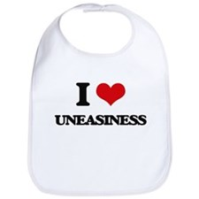 I love Uneasiness Bib