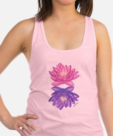 Sunrise Sunset Lotus Racerback Tank Top