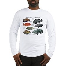 Groupers of the World Long Sleeve T-Shirt