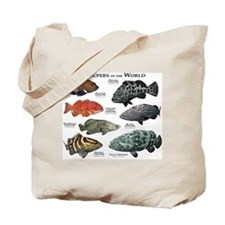 Groupers of the World Tote Bag