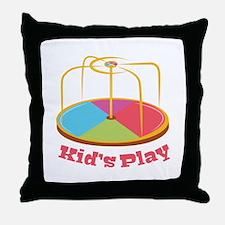 Kid's Play Throw Pillow