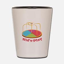 Kid's Play Shot Glass