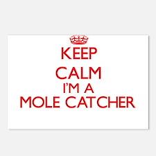 Keep calm I'm a Mole Catc Postcards (Package of 8)