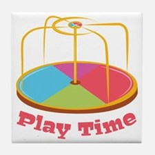 Play Time Tile Coaster