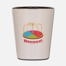 Recess ! Shot Glass