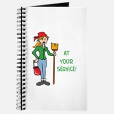 AT YOUR SERVICE Journal