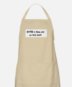 Both Of Them Are My Real Dads! BBQ Apron