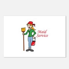 MAID SERVICE Postcards (Package of 8)