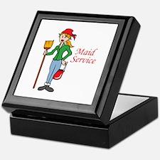 MAID SERVICE Keepsake Box