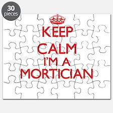 Keep calm I'm a Mortician Puzzle