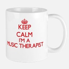 Keep calm I'm a Music Therapist Mugs