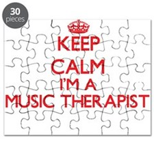 Keep calm I'm a Music Therapist Puzzle