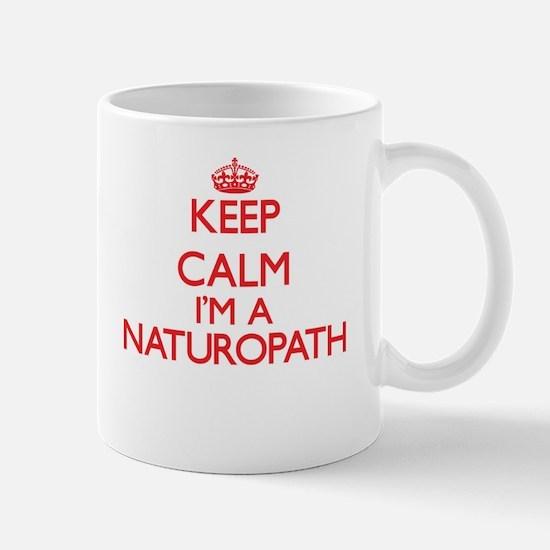 Keep calm I'm a Naturopath Mugs