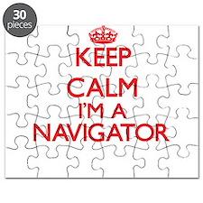 Keep calm I'm a Navigator Puzzle
