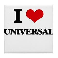 I love Universal Tile Coaster