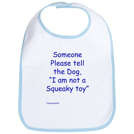Squeaky Toy Bib