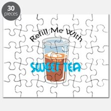REFILL WITH SWEET TEA Puzzle