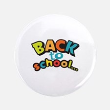 "BACK TO SCHOOL 3.5"" Button"