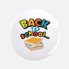 "SCHOOL BOOKS 3.5"" Button"