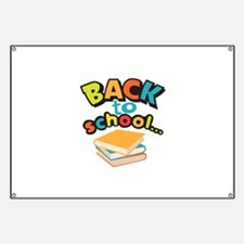 SCHOOL BOOKS Banner