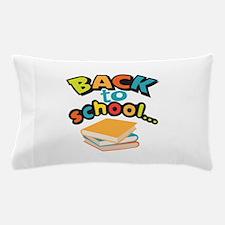 SCHOOL BOOKS Pillow Case