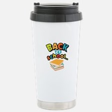 SCHOOL BOOKS Travel Mug